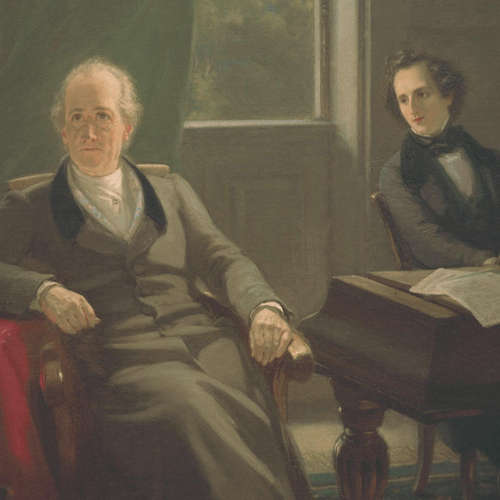 Mendelssohn und Goethe
