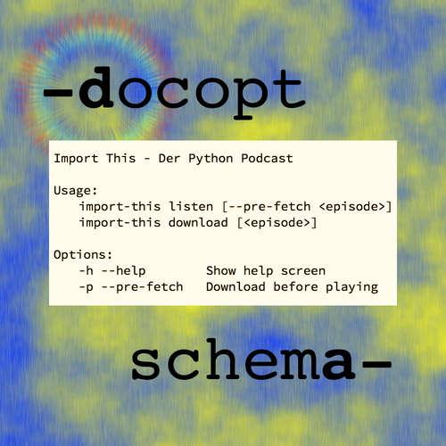 CLI Parameter mit Docopt und Schema