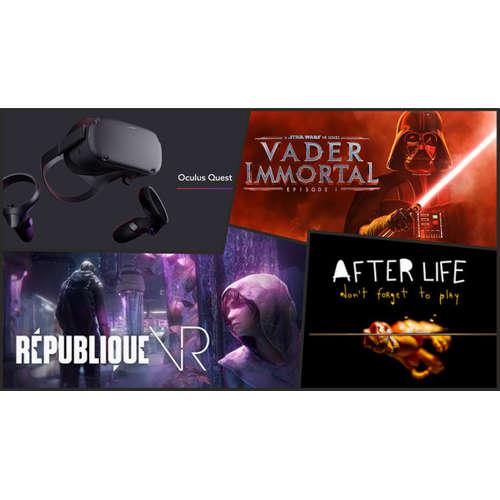 E155 - Oculus Quest Teil 2 und da war doch noch was....ein Bisschen Gamescom (Gast: H.P.)