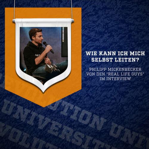 "Revolution University: Philipp Mickenbecker (The Real Life Guys) - ""Wie gehe ich durch schweres Leid?"" 