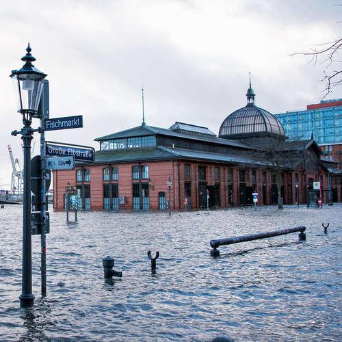 Hafenreport: Schutz vor Sturmfluten in Hamburg