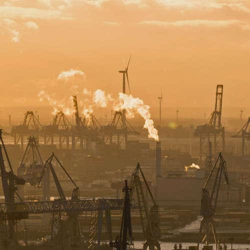 Corona und der Hamburger Hafen