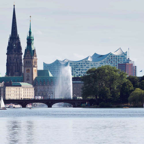 Hamburg in Versen