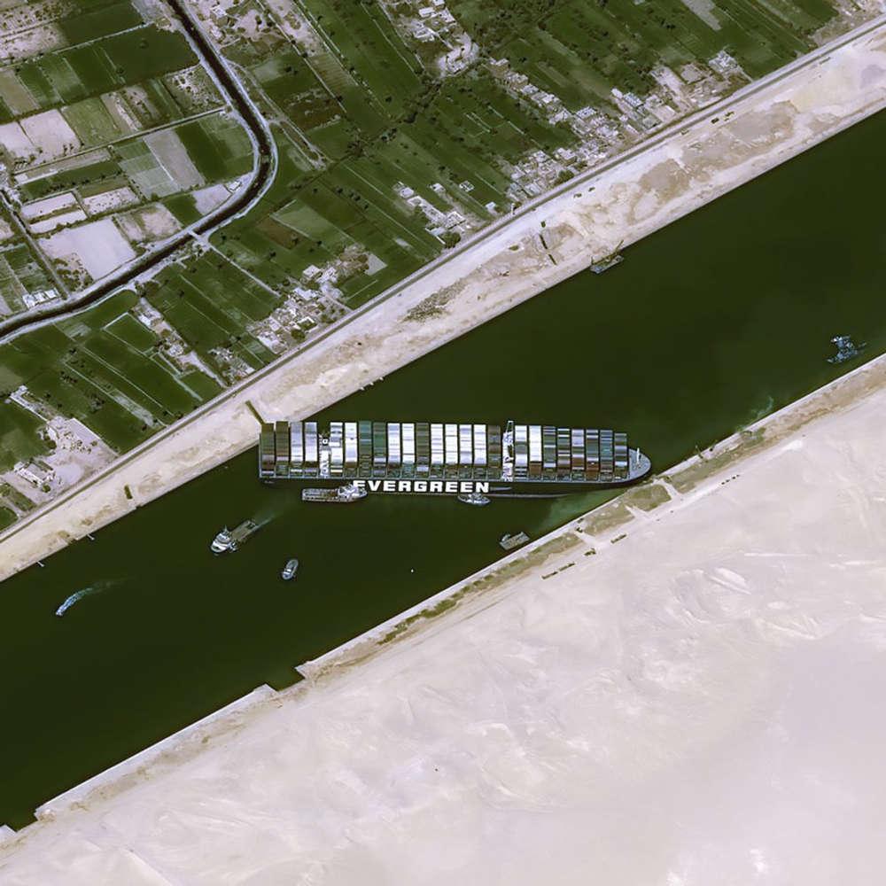 """Schiffsfalle Suezkanal - Die Havarie der """"Ever Given"""""""