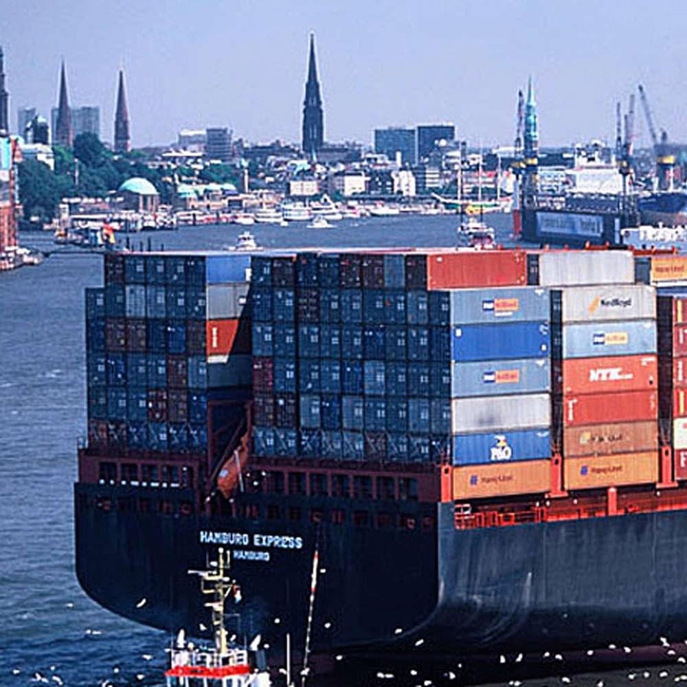 50 Jahre Container in Hamburg