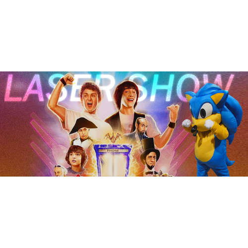 Laser Show 033: Bill & Ted & Sonic