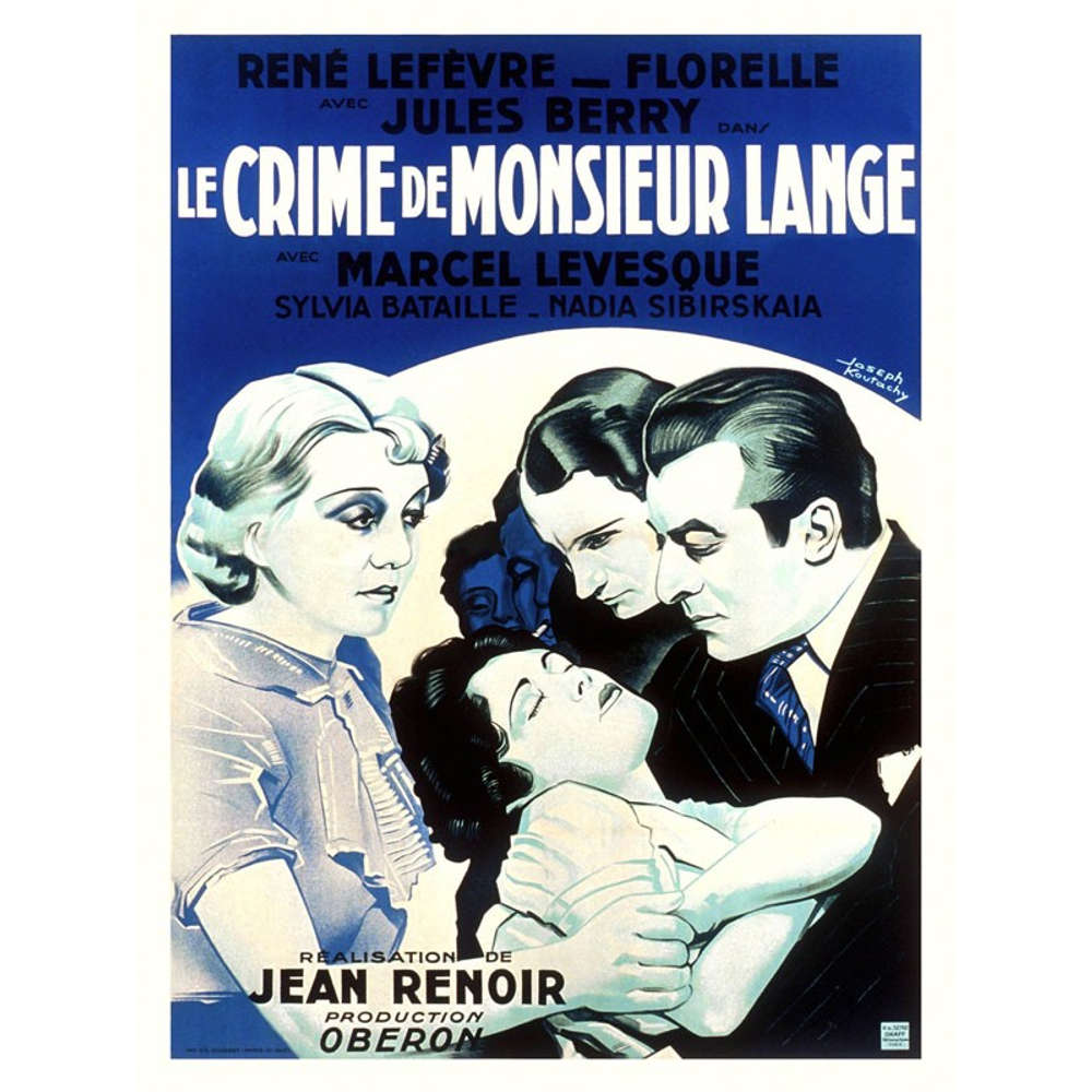 Episode 047: Das Verbrechen des Herrn Lange (Le crime de Monsieur Lange), 1936