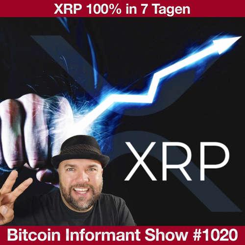 #1020 Ripple XRP explodiert 100%, BlackRock - Bitcoin kann Gold ersetzen & ETH 2.0 Launch