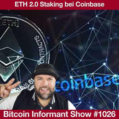 #1026 Coinbase ETH Staking, Chef Börse Stuttgart neuer BitMex CEO & BlockFi Bitcoin Reward Kreditkarte
