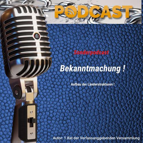 Podcast 2020-47 – Bekanntmachung