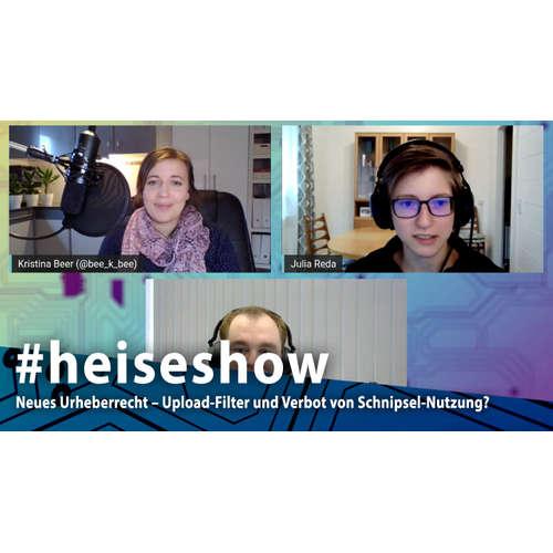 Neues Urheberrecht – Upload-Filter und Verbot von Schnipsel-Nutzung? | #heiseshow