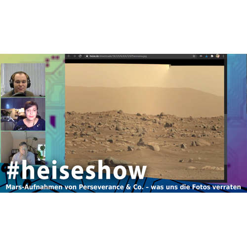Mars-Aufnahmen von Perseverance & Co. – was uns die Fotos verraten