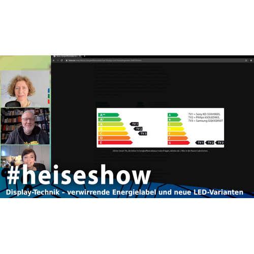 Display-Technik – verwirrende Energielabel und neue LED-Varianten