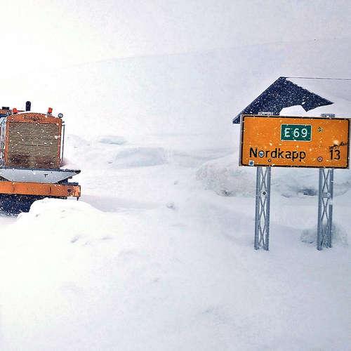 Norwegens eisiger Norden: Das Nordkap im Winter