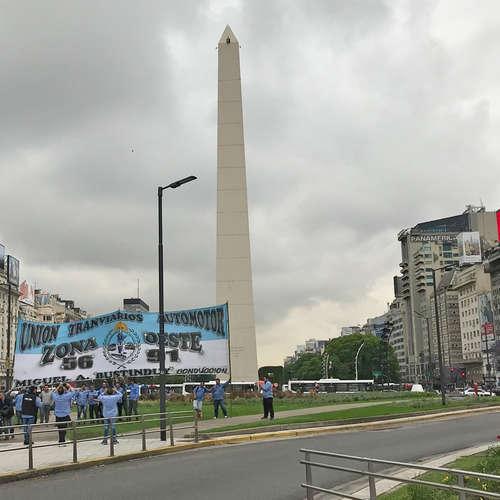 Die Straßen von Buenos Aires -