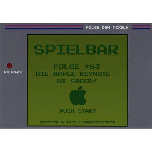 SpielBar #63 - Die Apple Keynote - Hi, Speed