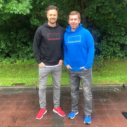 Bolzplatzkind zu Gast bei RTL- und DAZN-Kommentator Marco Hagemann