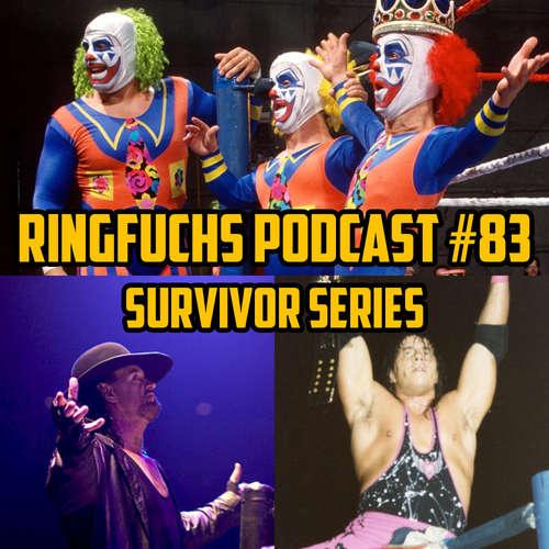 Ringfuchs Wrestling Podcast #083 – Survivor Series