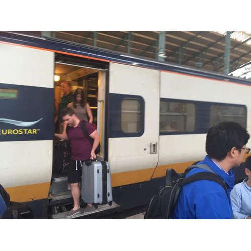 To Sicily: Arrival in Paris