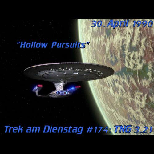 #174: Hollow Pursuits (TNG 3.21)