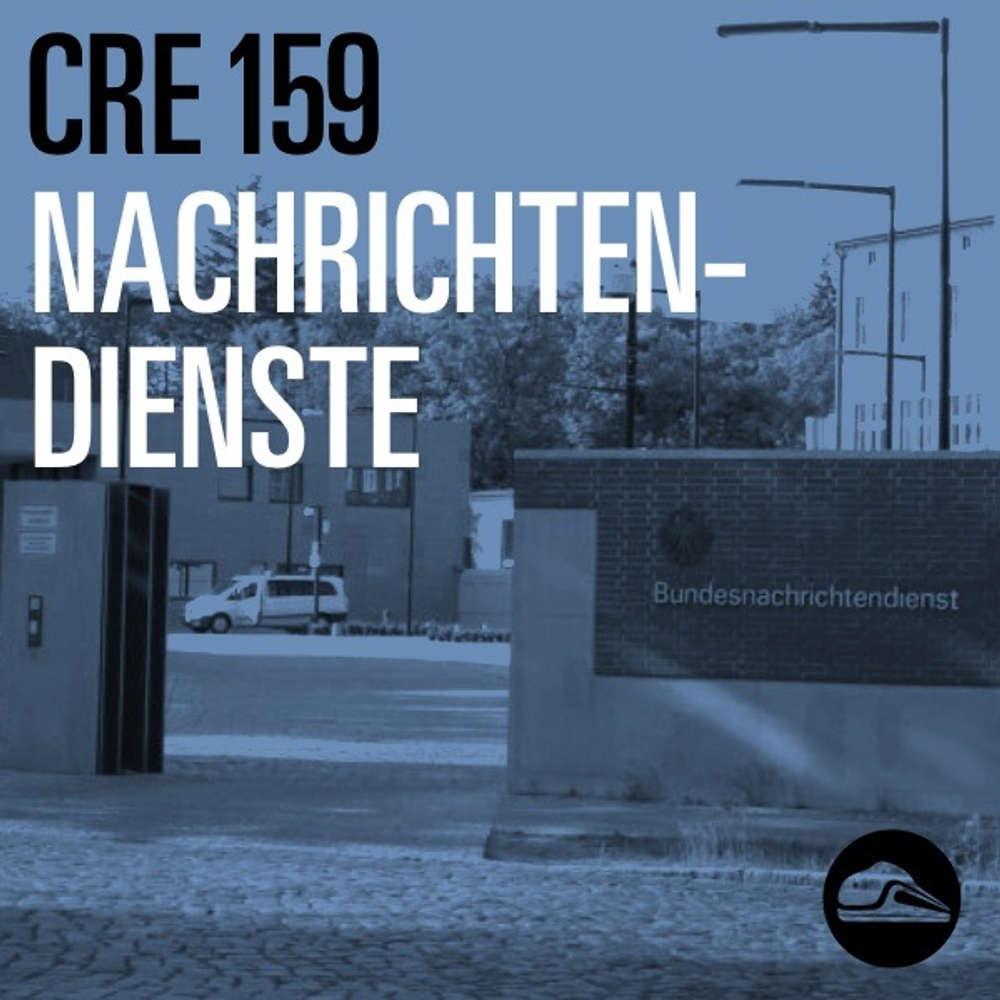 CRE159 Nachrichtendienste