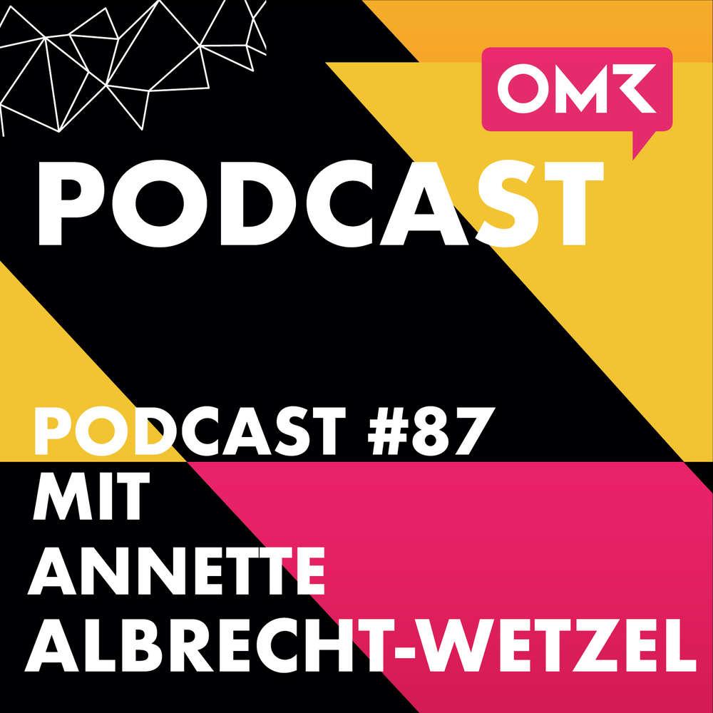 OMR #87 mit Pippa & Jean-Mitgründerin Annette Albrecht-Wetzel