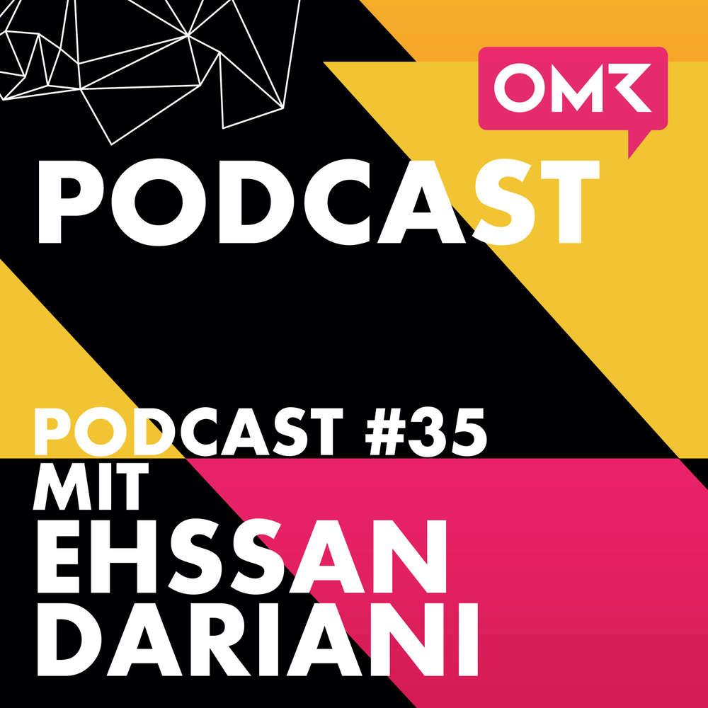 OMR #35 mit StudiVZ-Gründer Ehssan Dariani
