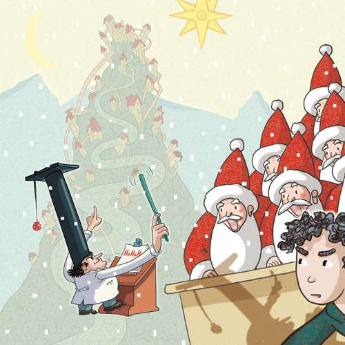 Die Schule der Weihnachtsmänner (1/3) - Hörspiel für Kinder