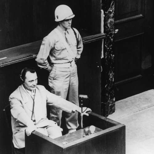 Hermann Göring wird in Nürnberg vereidigt | Nürnberger Prozesse