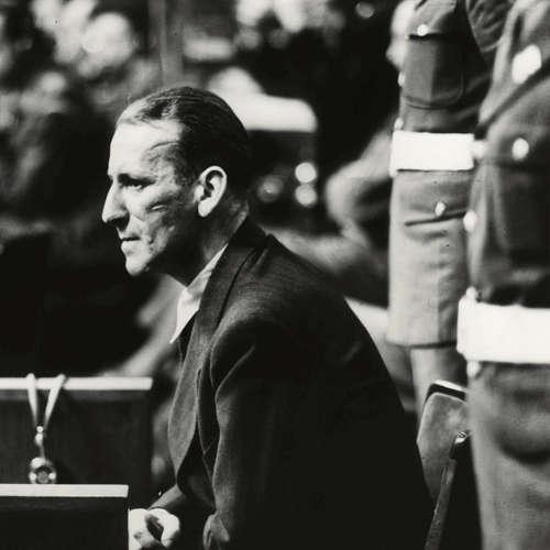 Ernst Kaltenbrunner will nichts von Gaskammern gewusst haben   Nürnberger Prozesse