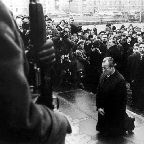 Willy Brandts Kniefall in Warschau – Livereportage