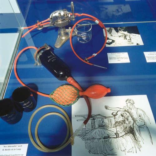 Franz Oehlecker über die moderne Bluttransfusion   5.1.1932