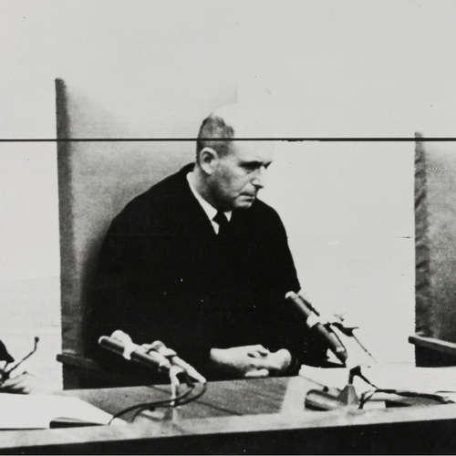 Eichmann-Prozess in Vorbereitung – Interview mit Richter Moshe Landau   29.9.1960