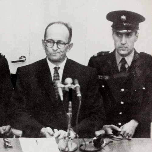 Der Eichmann-Prozess beginnt in Jerusalem   11.4.1961