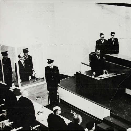 Todesurteil gegen Adolf Eichmann   15.12.1961