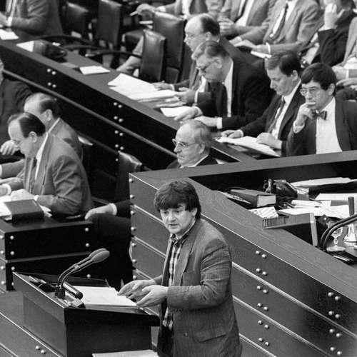Bundestagstagsdebatte zu Tschernobyl und Atomkraft