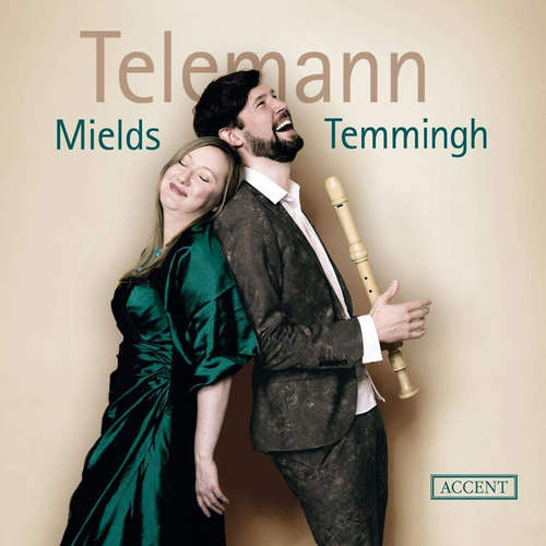 Temmingh und Mields mit einem Toast auf Telemann