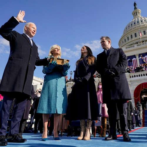 Machtwechsel im Weißen Haus - Die Amtseinführung von Joe Biden