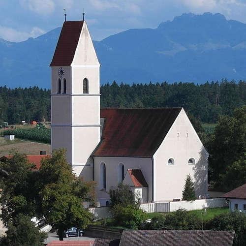 Lampferding in Oberbayern