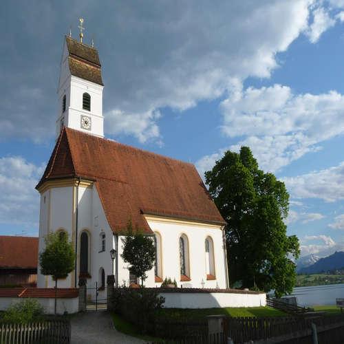 Riegsee in Oberbayern
