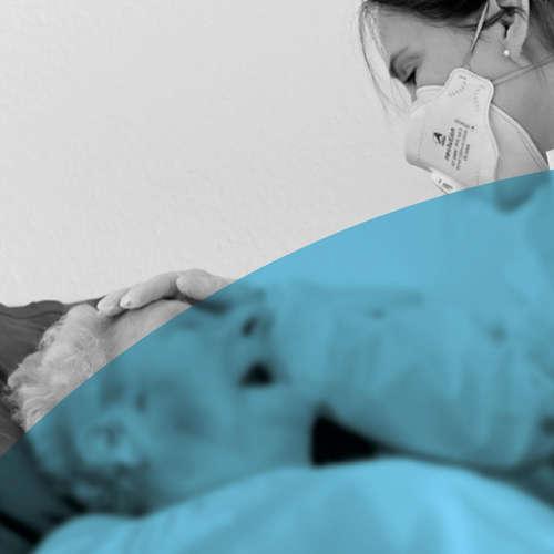 Pflege ohne Nähe - Ein Feature über den Umgang mit Covid-19 in Altenheimen