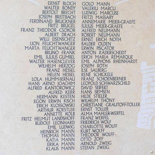 Exilliteratur - deutsche Texte aus der Fremde