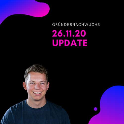 Update 26.11.20 | Gründernachwuchs
