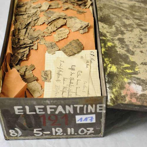 Die Entschlüsselung der Papyri von Elephantine