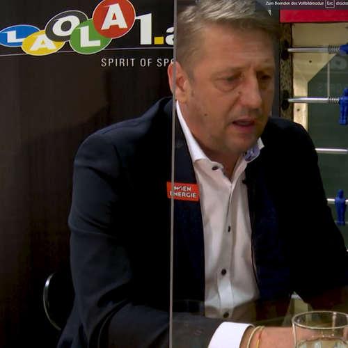 Am Stammtisch bei Andy Ogris: Zoran Barisic