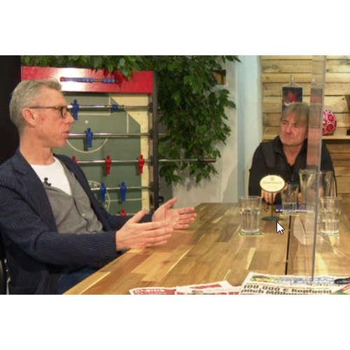 Am Stammtisch bei Andy Ogris: Peter Stöger