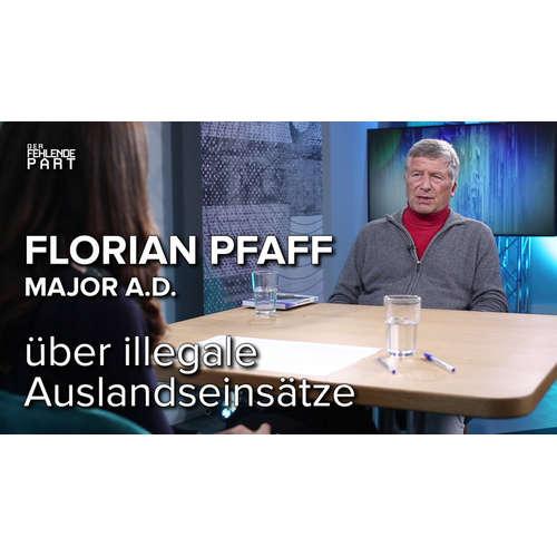 """Ihr müsst den Gehorsam verweigern"" – Major a.D. Florian Pfaff zu illegalen Auslandseinsätzen"