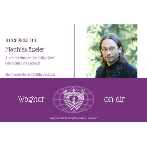 """Interview mit Matthias Egeler, Autor des Buches """"Der Heilige Gral"""""""