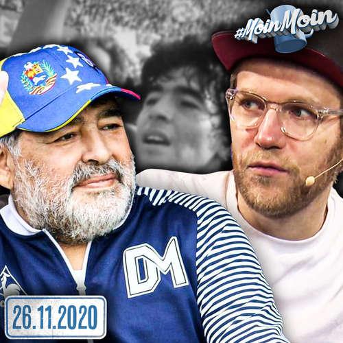 #1465 | Diego Maradona, Silvesterpläne & Meer – Nils Q&A