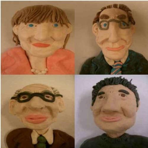 Das satirische Quartett